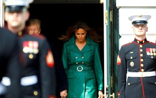 Tiskovna predstavnica Melanie Trump: Govorice o dvojnici prve dame ZDA so sramotne!