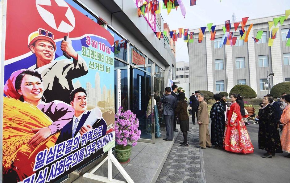 Na volitvah v Severni Koreji 99,99-odstotna udeležba (foto: profimedia)