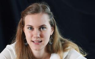 Finalistka Mladi upi 2018: Saksofonistka Sandra Rijavec