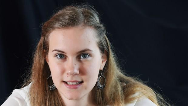 Finalistka Mladi upi 2018: Saksofonistka Sandra Rijavec (foto: Mateja Jordovič Potočnik)