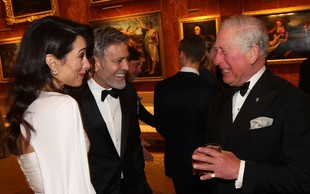 Amal Clooney očaral drug moški, le kaj bo na to rekel njen mož George Clooney