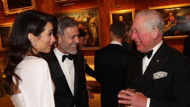 Amal Clooney očaral drug moški, le kaj bo na to rekel njen mož George Clooney (foto: Profimedia)