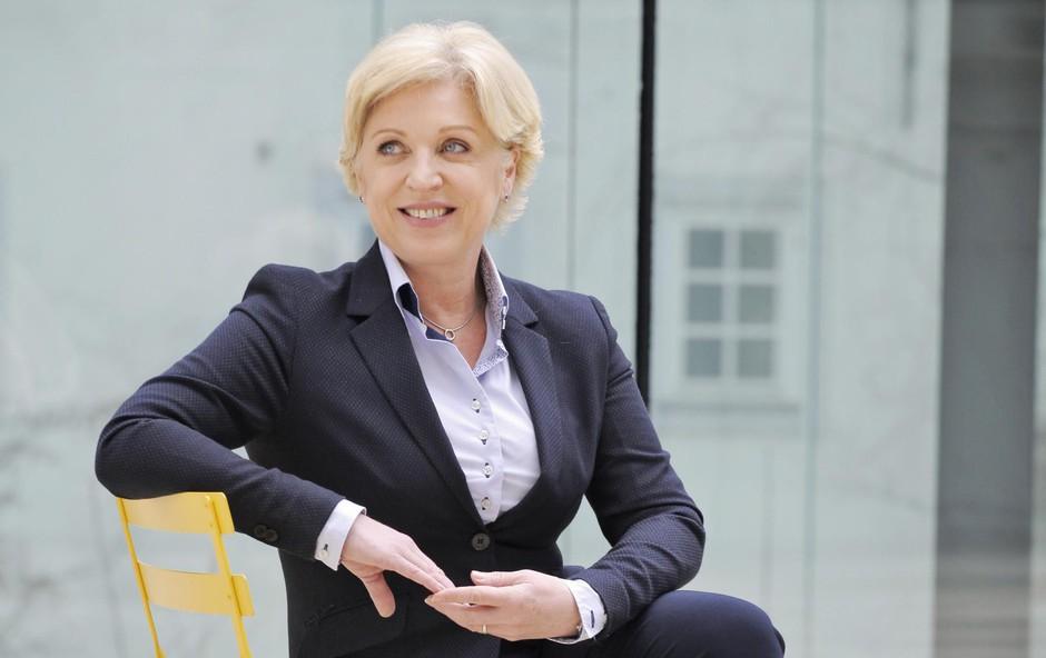 Romana Tomc (evropska poslanka): Vztrajna, zagnana, a tudi čustvena (foto: Aleksandra Saša Prelesnik)