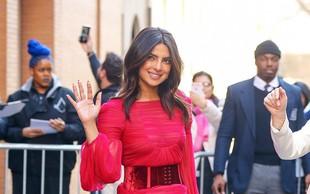Priyanka Chopra na ulicah New Yorka v prozorni obleki!