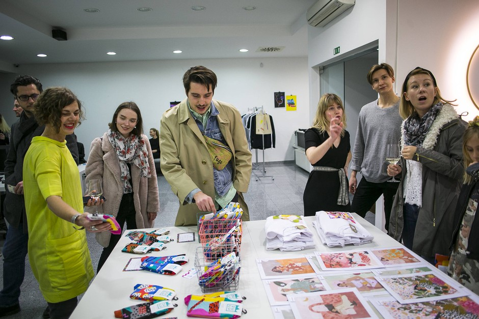 Alja Horvat in Zulu Zion predstavili skupno kolekcijo na dogodku Pop-Upstart (foto: CZK Pop-Upstart Press)