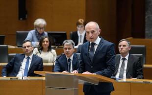 Novi zdravstveni minister Aleš Šabeder zadovoljen z izkazano podporo