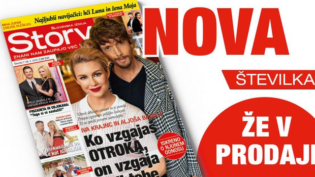 """Iva Krajnc in Aljoša Bagola: """"Ko vzgajaš otroka, on vzgaja tudi tebe."""" (foto: story)"""