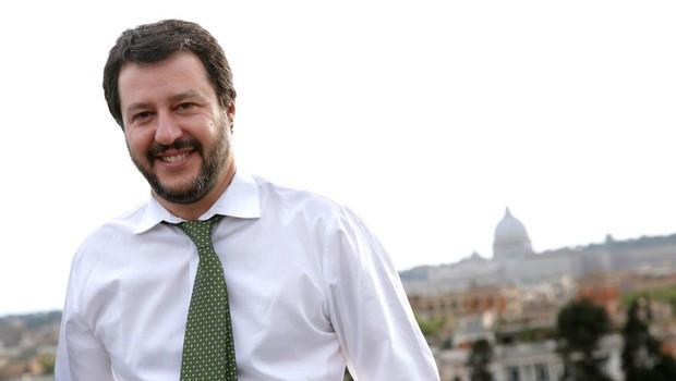 Italijanski notranji minister Matteo Salvini podprl svetovni kongres družin (foto: profimedia)