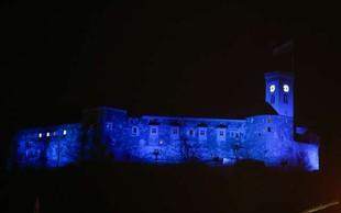Ob dnevu zavedanja o avtizmu bodo nekatere stavbe odete v modro barvo