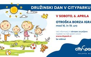 Pridite na otroško borzo igrač v Citypark: prodajte, zamenjajte ali podarite