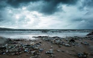 Pred Sardinijo naplavilo kitovko z več kot 20 kilogrami plastike v želodcu