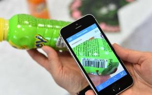 Mobilna aplikacija VešKajJeš za pomoč pri hitri in enostavni izbiri bolj zdravih živil
