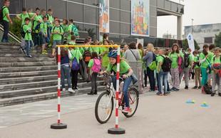 Program varno na kolesu letos povezuje več kot 3300 učencev