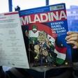 Drama mednarodnih razsežnosti zaradi zadnje naslovnice Mladine!