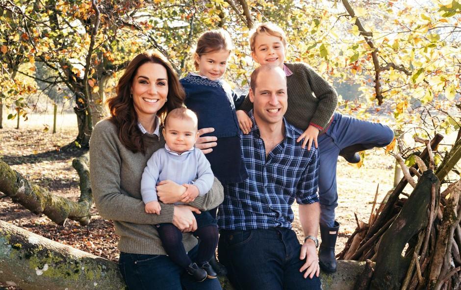 Kate in William  ves svoj prosti čas  posvečata otrokom. (foto: Profimedia Profimedia, Temp Rex Features)