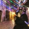 Salma Hayek in Samuel L. Jackson objeta uživala v lepotah romantičnega Rovinja