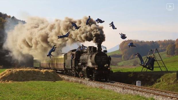 Peklenski parni Dunking Devils vlak bo senzacija brez primere! (foto: Dunking Devils Press)