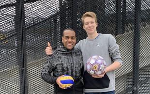 Marcos Tavares in Rok Možič sta združila izkušnje in mladost