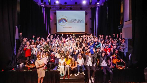 17. Otroški festival gledaliških sanj navdušil obiskovalce! (foto: Mediaspeed)