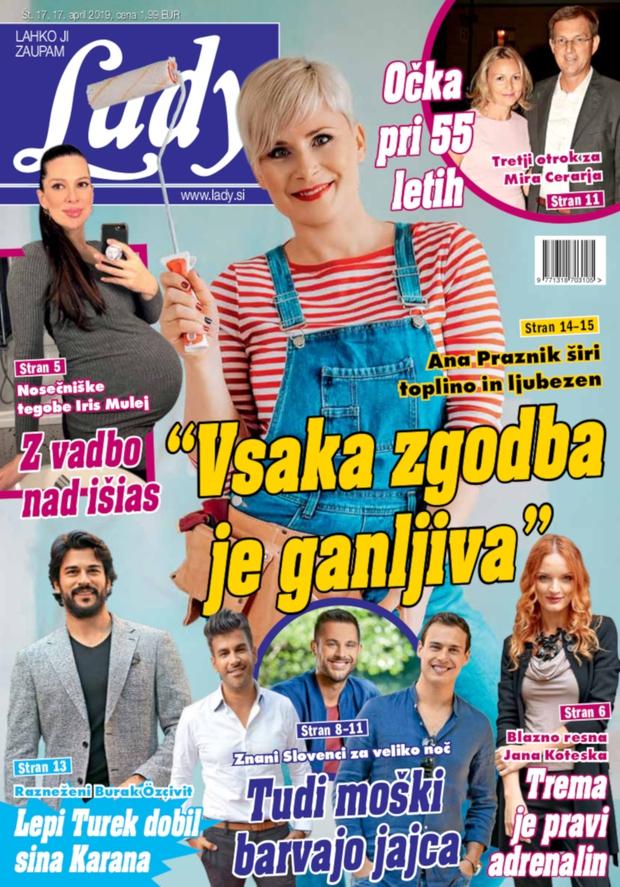 """Ana Praznik širi toplino in ljubezen: """"Vsaka zgodba je ganljiva."""" (foto: Lady)"""