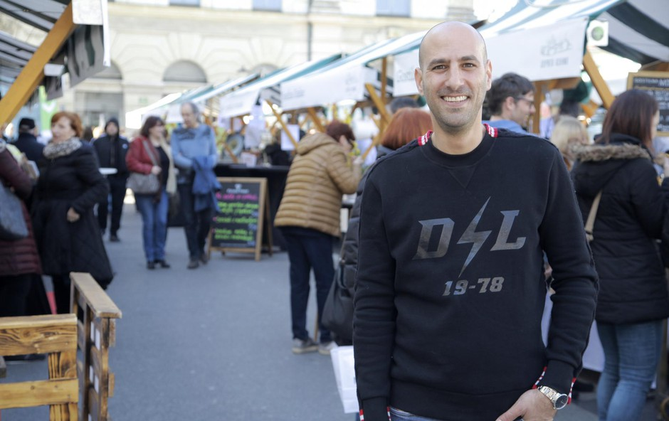 Lior Kochavy (ustanovitelj projekta Odprta kuhna): Da zbereš restavracije na kup, ni dovolj (foto: Aleksandra Saša Prelesnik)