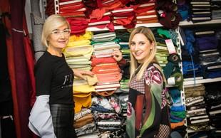 Urška in Martina Marolt (oblikovalki oblačil): Ključno je sodelovanje ekipe