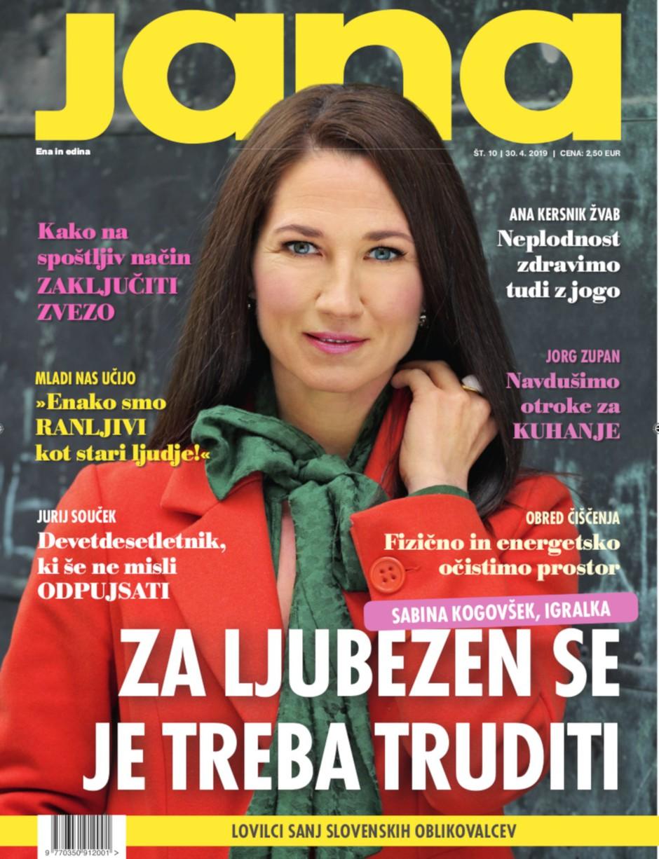 """Sabina Kogovšek: """"Za ljubezen se je treba truditi."""" (foto: Jana)"""