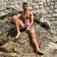 Cristiano Ronaldo na počitnicah v Dubrovniku