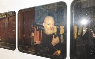 Assange bo skoraj leto dni v zaporu zaradi kršenja pogojnega izpusta
