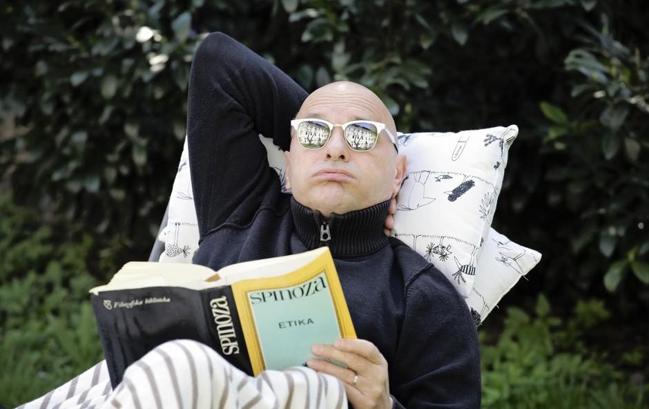 """Dario Varga: """"Ko ležim, delam"""" (foto: Aleksandra Saša Prelesnik)"""