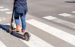 Francozi bodo pešce zaščitili s prepovedjo električnih skirojev na pločnikih