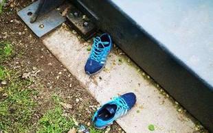 Po sporočilu o najdbi očal in čevljev kranjski policisti sprožili iskalno akcijo