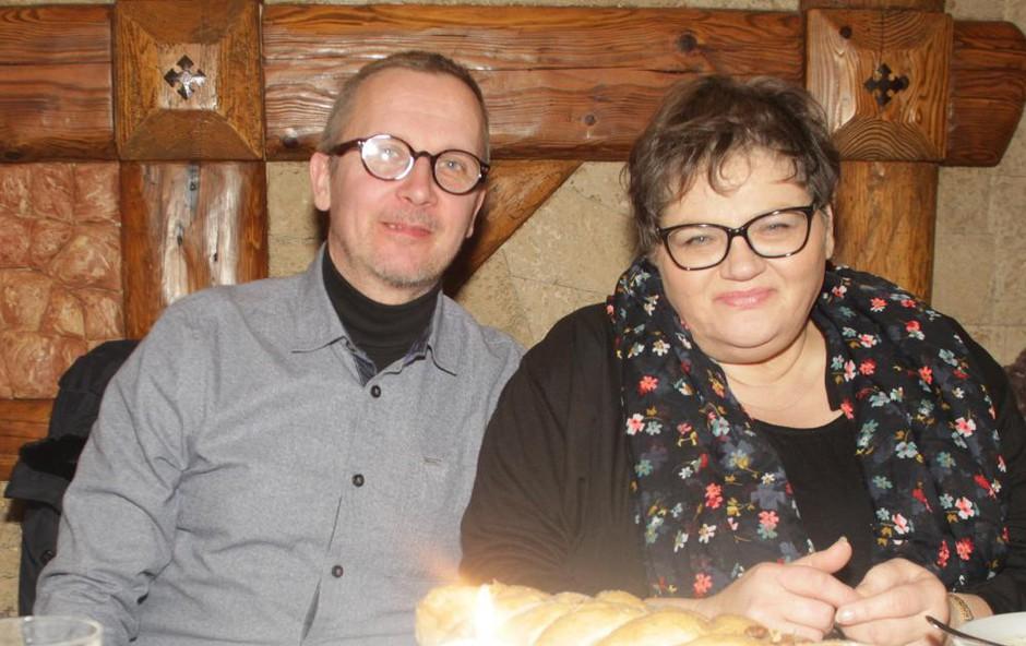 Horoskopsko ujemanje Dese Muck in Igorja Blažina (foto: Ahiv AM)