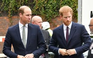 Princ Harry priznal, da odnos z bratom Williamom ni več tak, kot je bil
