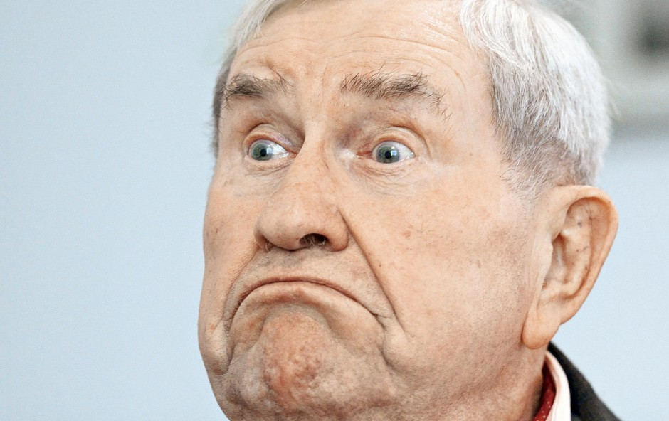 Jurij Souček praznuje 90 let (foto: Primož Predalič)