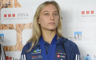 Janja Garnbret bi rada postala trenerka športnega plezanja