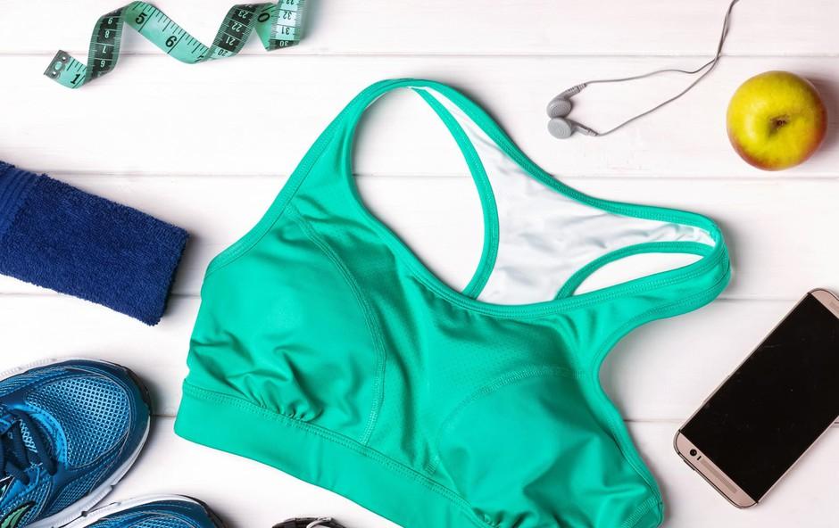 Ženska športna oprema: Športni modrček (foto: Shutterstock)