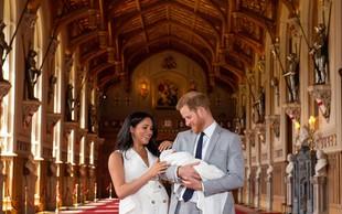 Na dan prišle nove ljubke fotografije princa Archieja