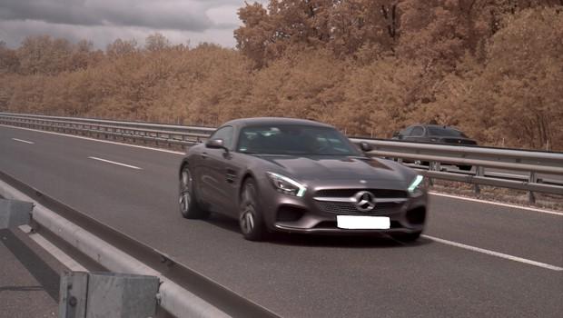 Madžar na pomurski avtocesti drvel več kot 220 kilometrov na uro (foto: PU Murska Sobota)