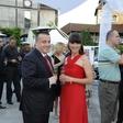 Joc Pečečnik in rojstnodnevna zabava na Brionih
