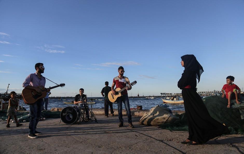 Palestinci načrtujejo alternativno Evrovizijo, ki bo potekala istočasno kot v Tel Avivu (foto: profimedia)