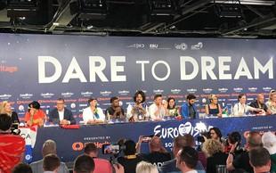 Zvečer bo v Tel Avivu znana letošnja zmagovalna pesem Evrovizije