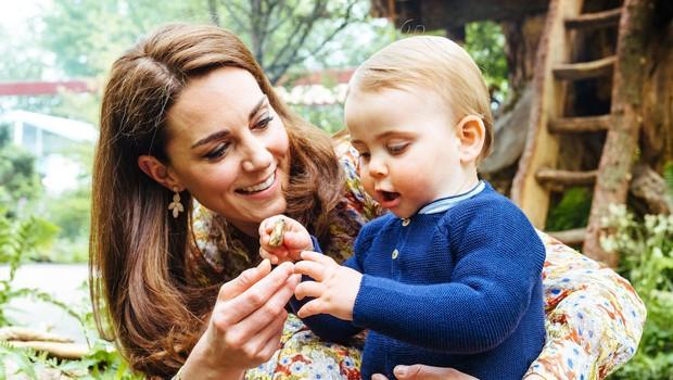 Mali princ Louis še nikoli ni bil tako zelo očarljiv (foto: Profimedia)