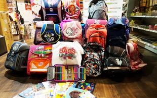 Šolarjem iz socialno šibkih družin brezplačne šolske potrebščine in torbe