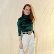 Emma Stone (Fotogalerija): Sveža barvna kombinacija