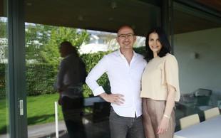 """Božo Ćeranić Rozman in Tatjana Damjanović: """"Najini energiji se odlično ujameta"""""""