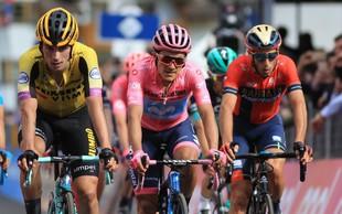Zgodovinski uspeh slovenskega kolesarstva: Primož Roglič tretji na dirki po Italiji