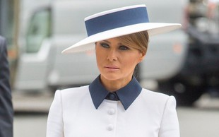 Melania Trump zaradi šiva na plašču v središču pozornosti ameriških tviterašev