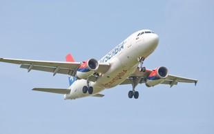 Avgusta iz Ljubljane v Niš tudi z letalom Air Serbia