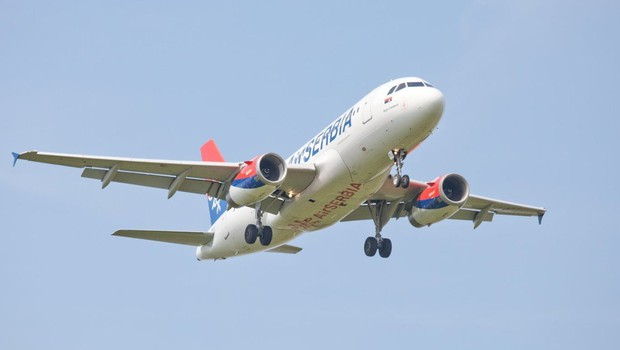 Avgusta iz Ljubljane v Niš tudi z letalom Air Serbia (foto: profimedia)